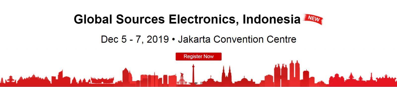 2019 GLOBAL SOURCES ELECTRONICS, INDONESIA (Dec 05~07, 2019